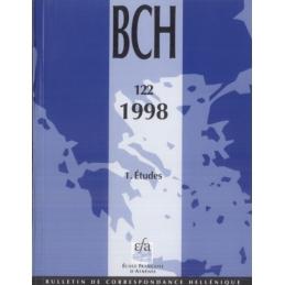 Bulletin de Correspondance Hellénique - 122 - 1998 - 1 Etudes