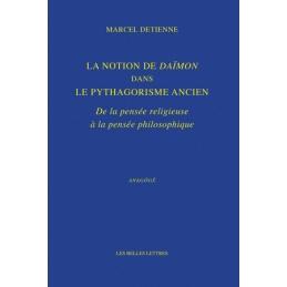 La Notion de Daïmon dans le pythagorisme ancien