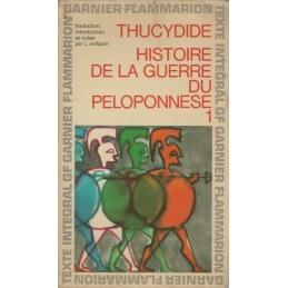 Histoire de la Guerre du Péloponnèse. Tome 1