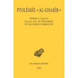 Épître à Gallus sur la vie, le testament et les écrits d'Aristote