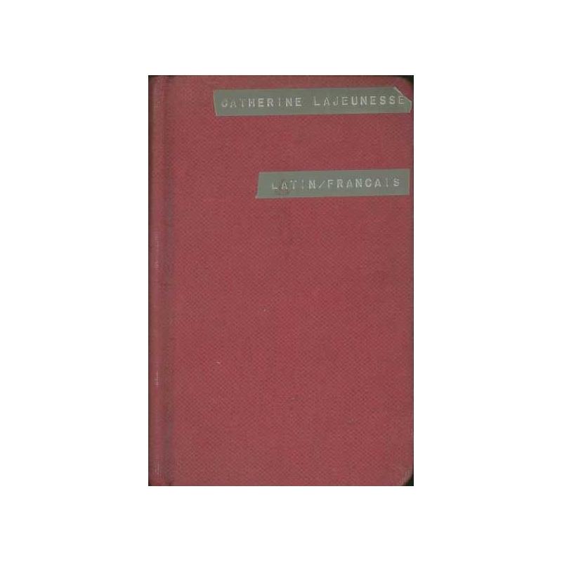 Dictionnaire latin-français (abrégé)