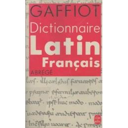 Dictionnaire latin-français abrégé