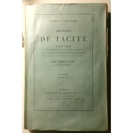 Cornelii Taciti Opera. Œuvres de Tacite : tome 1. Couverture