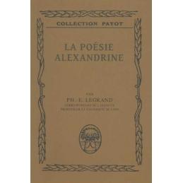 La poésie alexandrine