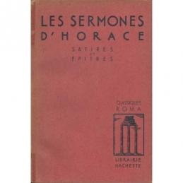 Les Sermones d'Horace. Satires et Epitres