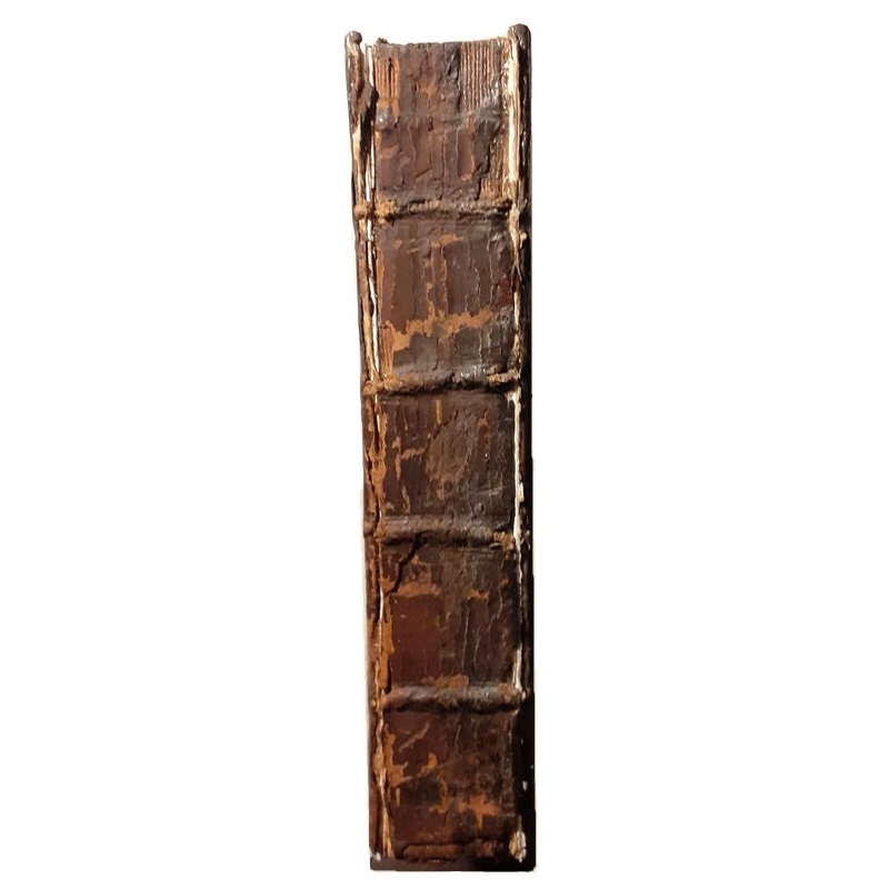 Andronicus Rhodius : Ethicorum Nichomacheorum paraphrasis. Dos de couverture