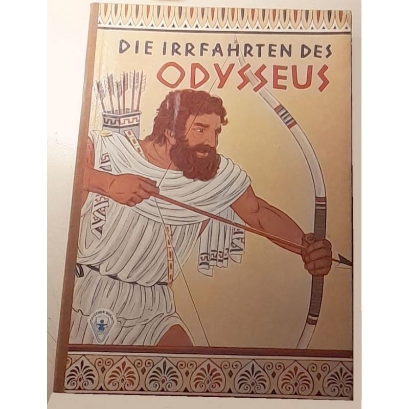Odysseus. Irrfahrten und Abenteuer des Helden von Ithaka. Couverture