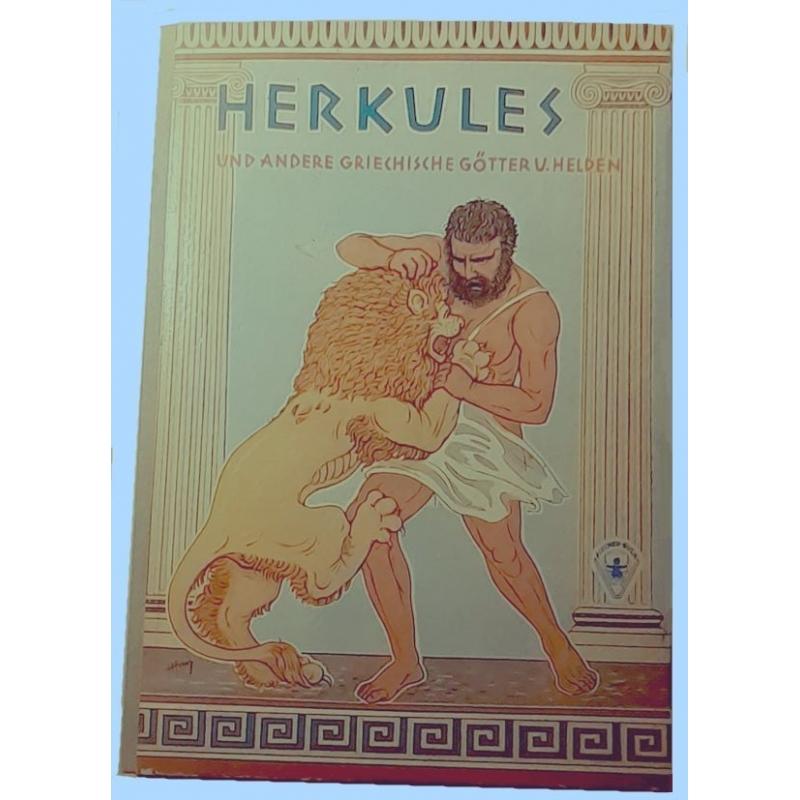 Herkules und andere griechische Götter und Helden. Couverture