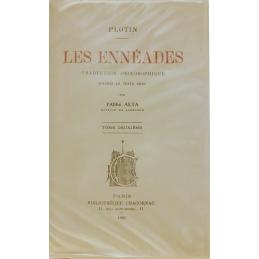 Les Ennéades : traduction philosophique d'après le texte grec par l'Abbé Alta, tome II