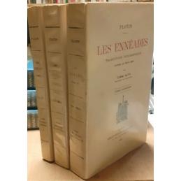 Les Ennéades : traduction philosophique d'après le texte grec par l'Abbé Alta, tomes I, II, III
