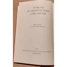 De Architectura Libri decem. Page de titre