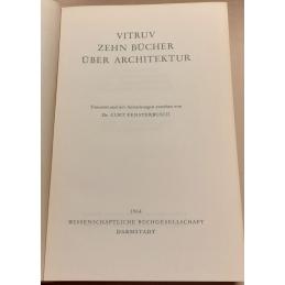 Zehn Bücher über Architektur. Page de titre