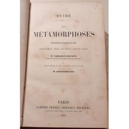 Les Métamorphoses (livres I-XV). Page de titre.