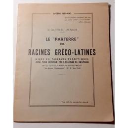 """Le """"Parterre des racines gréco-latines"""