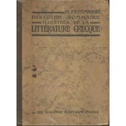 Histoire sommaire illustrée de la littérature grecque