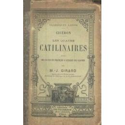 Les quatre Catilinaires. Couverture