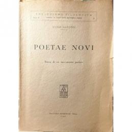 Poeta novi : Storia di un movimento poetico