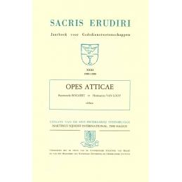 Opes Atticae. Miscellanea philologica et historica Raymondo Bogaert et Hermanno Van Looy oblata