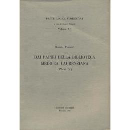 Dai Papiri della Biblioteca Medicea Laurenziana