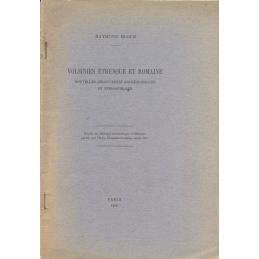Volsinies étrusque et romaine. Nouvelles découvertes archéologiques et épigraphiques