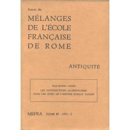 Les distributions alimentaires dans les cités de l'Empire romain tardif