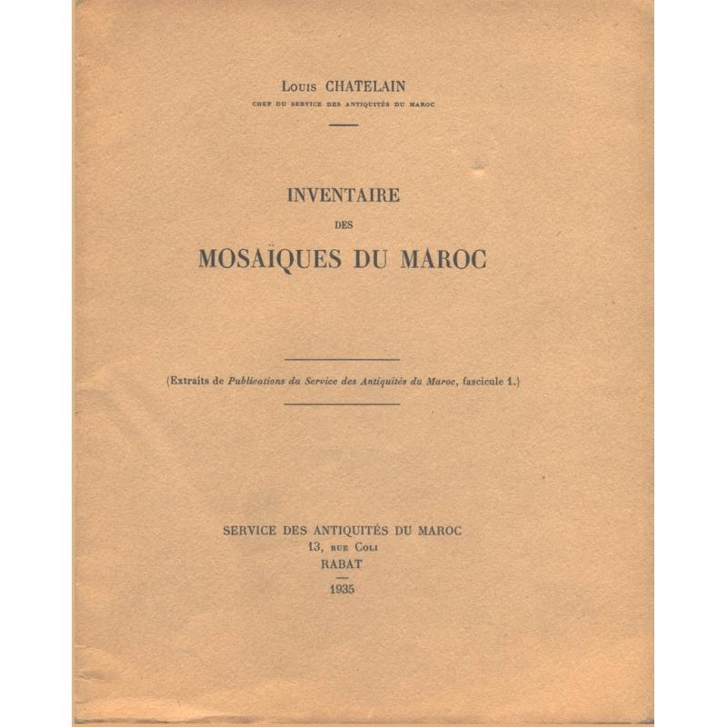 Inventaire des mosaïques du Maroc