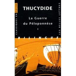La Guerre du Péloponnèse, tome I, livres I et II
