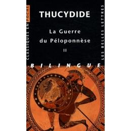 La Guerre du Péloponnèse, tome II, livres III, IV, V