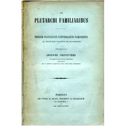 De Plutarchi Familiaribus