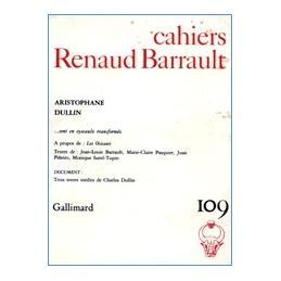 Cahiers Renaud Barrault 109