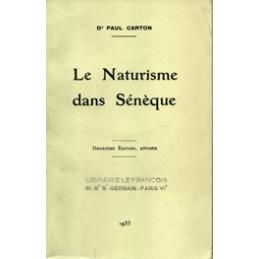 Le Naturisme dans Sénèque