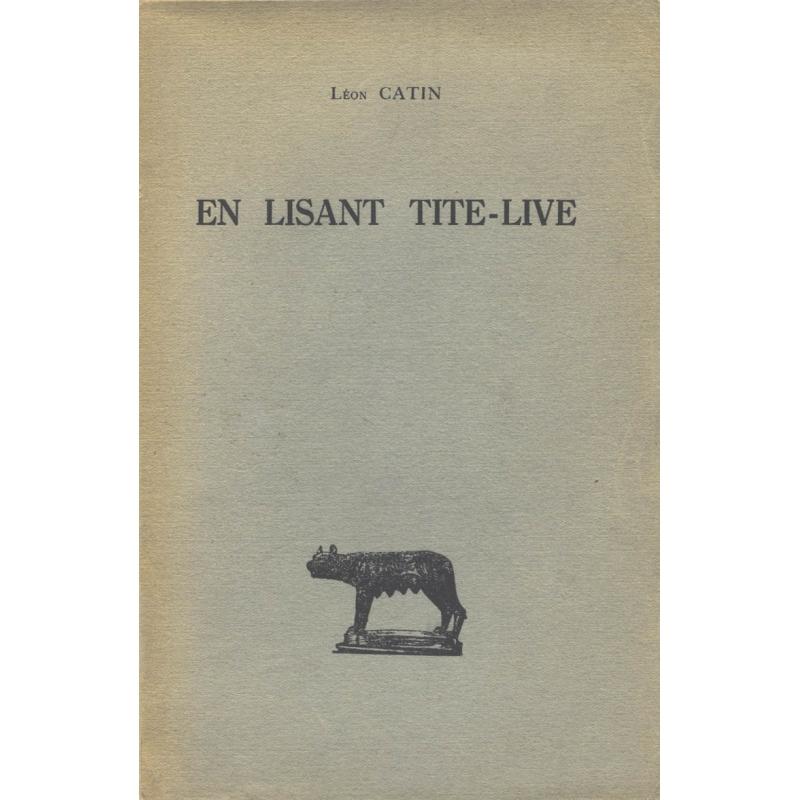En lisant Tite-Live