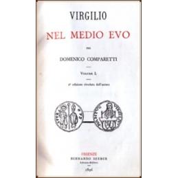 Virgilio nel medio Evo (2 volumes en 1) 2a edizione riveduta dall'autore.