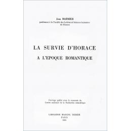 La survie d'Horace à l'époque romantique