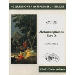 Ovide, Métamorphoses, livre X