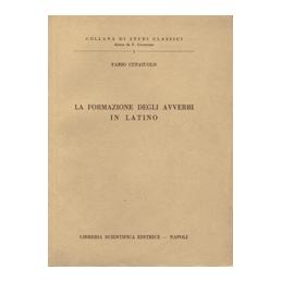 La formazione degli avverbi in latino