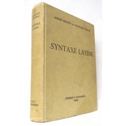 Syntaxe latine