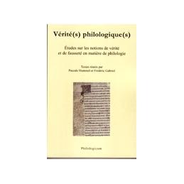 Vérité(s) philologiques