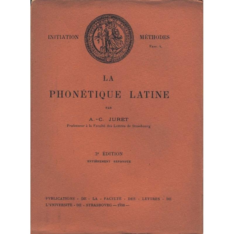La phonétique latine