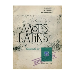 Les mots latins, fascicule n°5