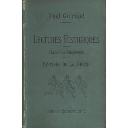 Lectures Historiques - Histoire de la Grèce