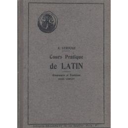 Cours pratique de latin