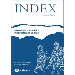 Index - Manuel de vocabulaire et dictionnaire de latin