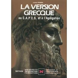 La version grecque au CAPES et à l'Agrégation