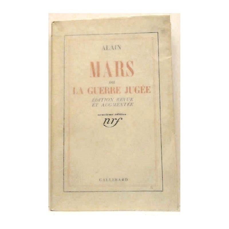 Mars ou la guerre jugée.
