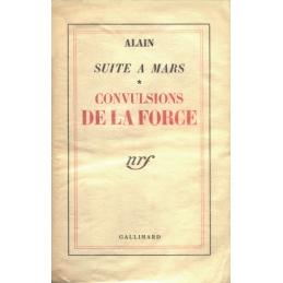 Suite à Mars. Convulsions de la force. Echec de la force. Deux volumes.