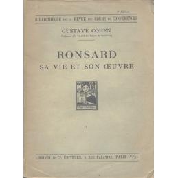 Ronsard. Sa vie et son œuvre
