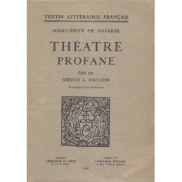 Théâtre profane