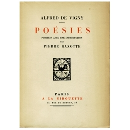 Poésies publiées avec une introduction par Pierre Gaxotte