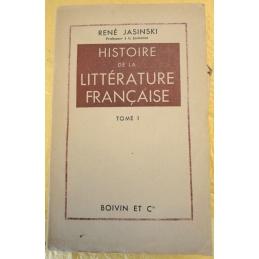 Histoire de la littérature française, tome I et II
